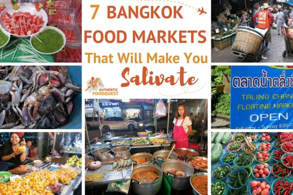 Food and Bangkok Markets Authentic Food Quest