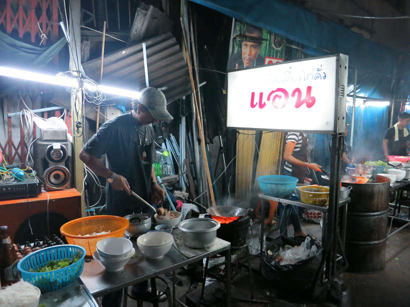 Ann fried noodles bangkok at night authentic food quest