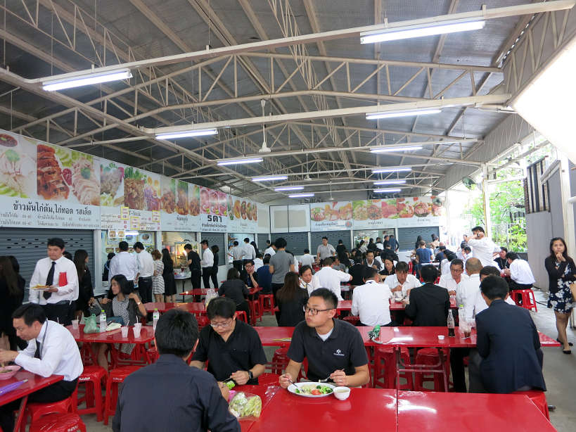 Cafeteria Goethe Institute for Bangkok food by Authentic Food Quest