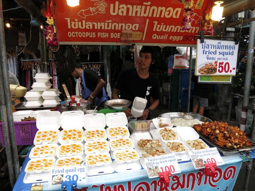 Chatuchak Food Vendor Bangkok Markets Authentic food quest