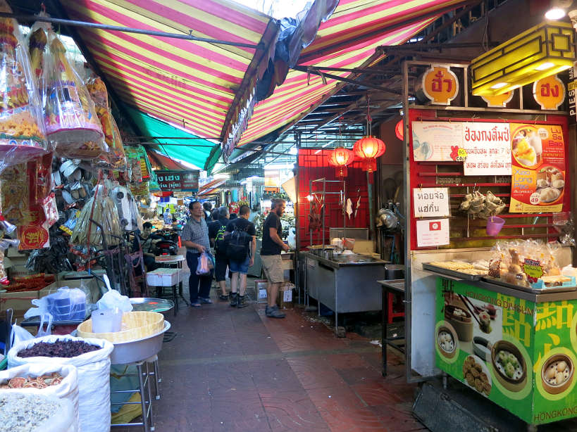 Chinatown Market Alley Bangkok Markets Authentic Food Quest