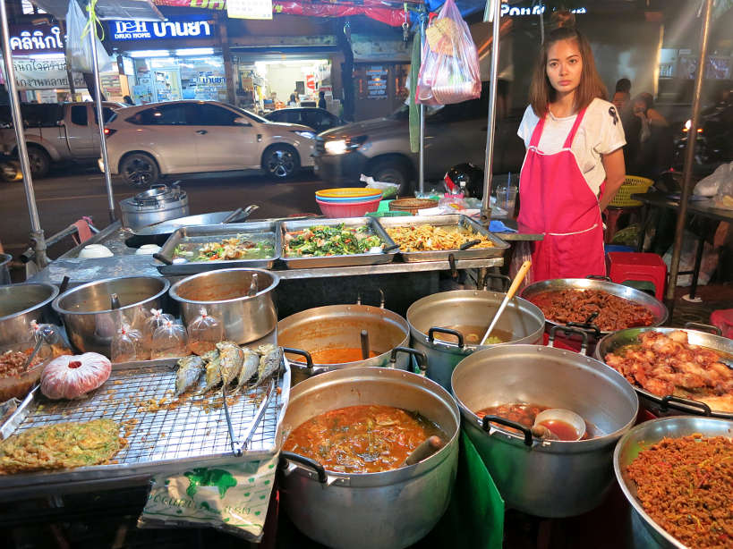 Chinatown Street Food Vendor Bangkok Markets Authentic Food Quest