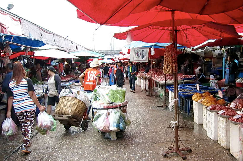 Khlong Toei market Bangkok Food Markets Authentic Food Quest