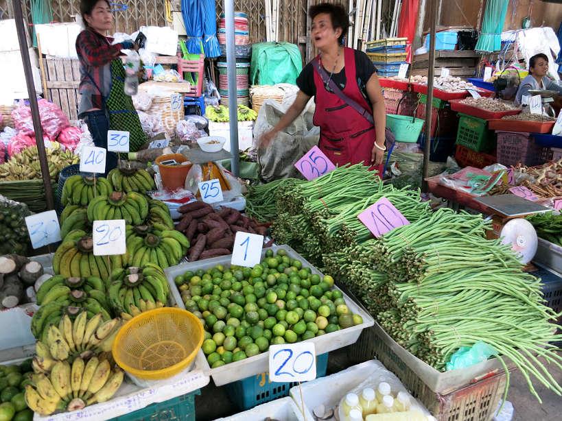 Khlong Toei Vendor fresh products Bangkok Food Markets Authentic Food Quest