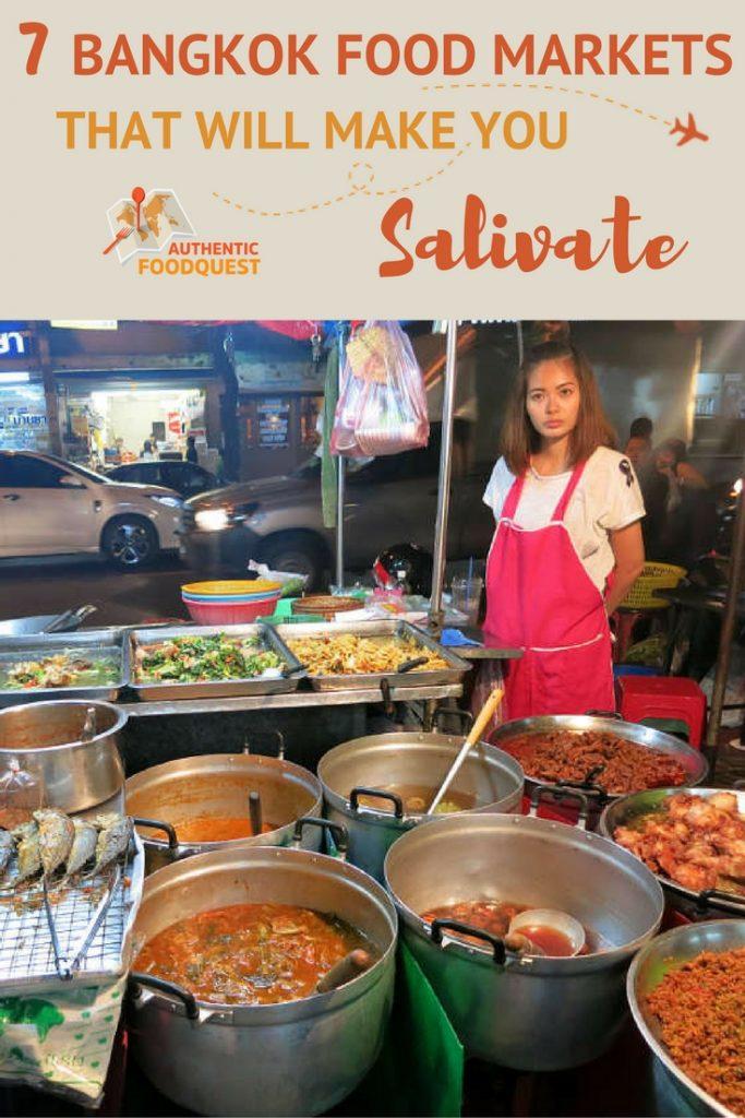 Pinterest Bangkok Food Markets Authentic Food Quest
