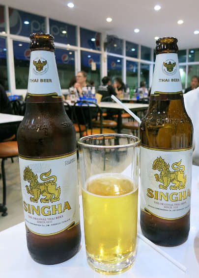 Singha beer bangkok at night authentic food quest