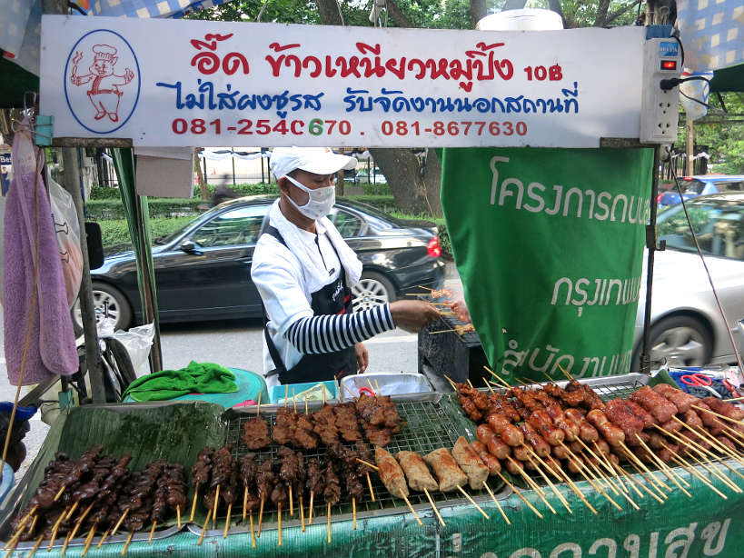 Street Vendor in Bangkok by authentic food quest