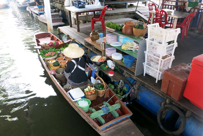 Taling Chan market Boat Bangkok Markets Authentic Food Quest