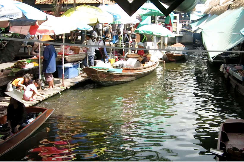 Taling Chan Boats Bangkok Markets Authentic Food Quest