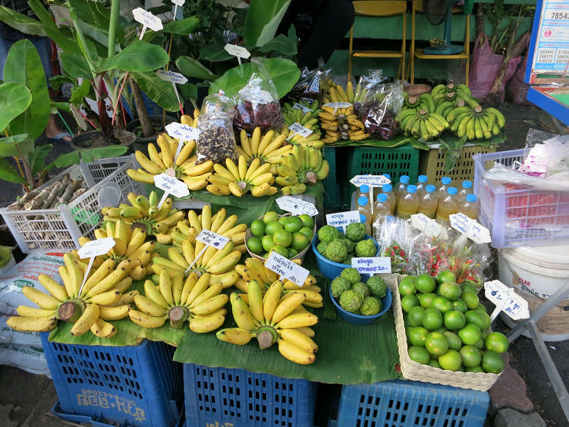 Taling Chan Fruit Stall Bangkok Markets Authentic Food Quest