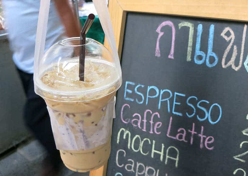 Thai Iced Coffee in Bangkok Authentic Food Quest