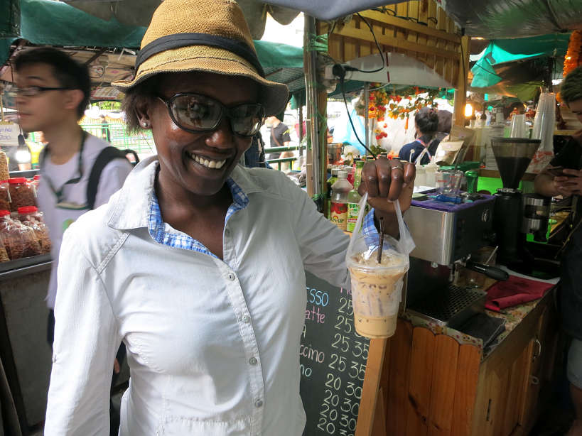 Wang Lang Iced Coffee Bangkok Markets Authentic Food Quest