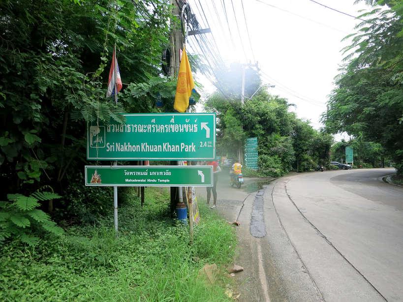 BotanicalGarden Direction Bang Krachao Running in Bangkok Authentic Food Quest