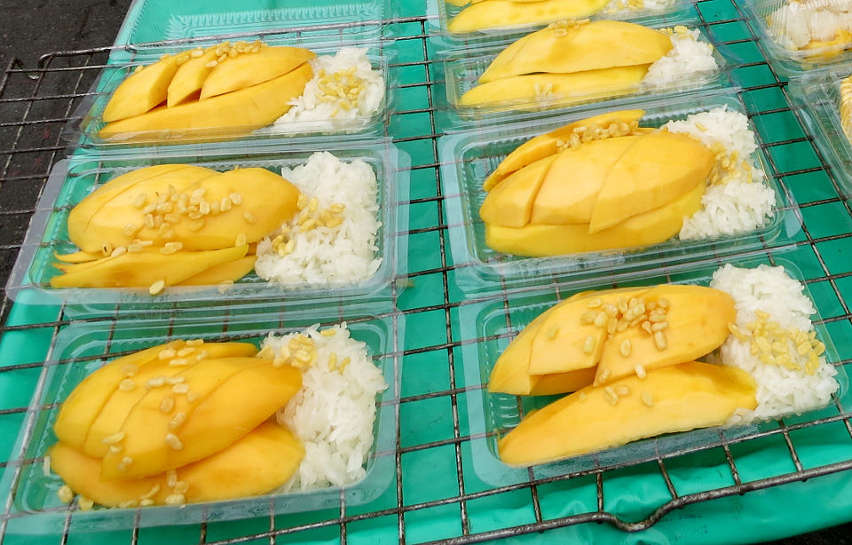 Mango Sticky Rice Food Travel experiences Authentic Food Quest