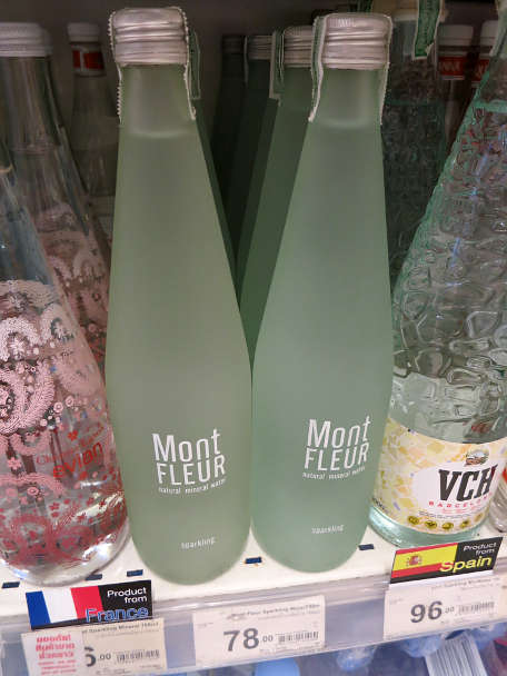 Mineral Water in the Store Drinking water Southeast Asia Authentic Food Quest