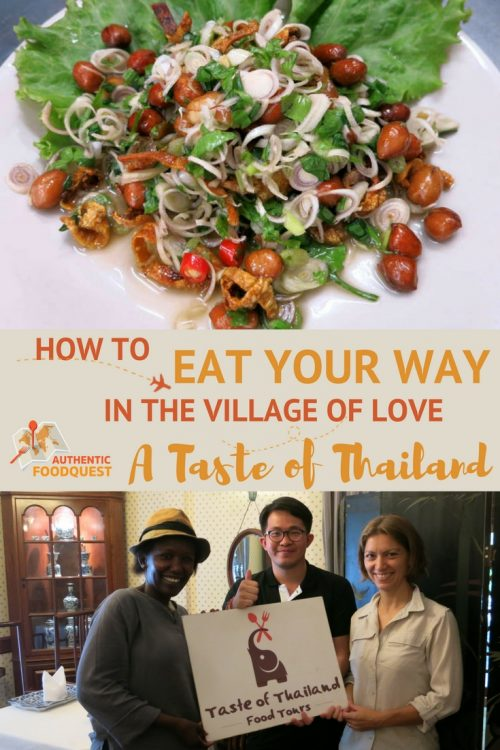 Pinterest How to eat your way in the Village of Love Bangkok Food Tour Taste of Thailand