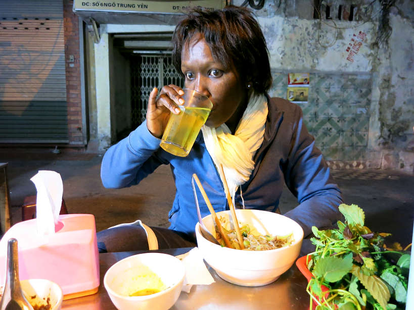 Rosemary drinking Tra Da_ the Drinking water of Southeast Asia Authentic Food Quest
