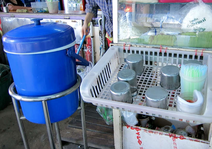 Water and Cups to Drink Water in Southeast Asia Authentic Food Quest