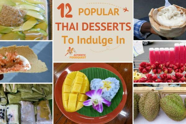 12 Popular Thai Desserts Authentic Food Quest