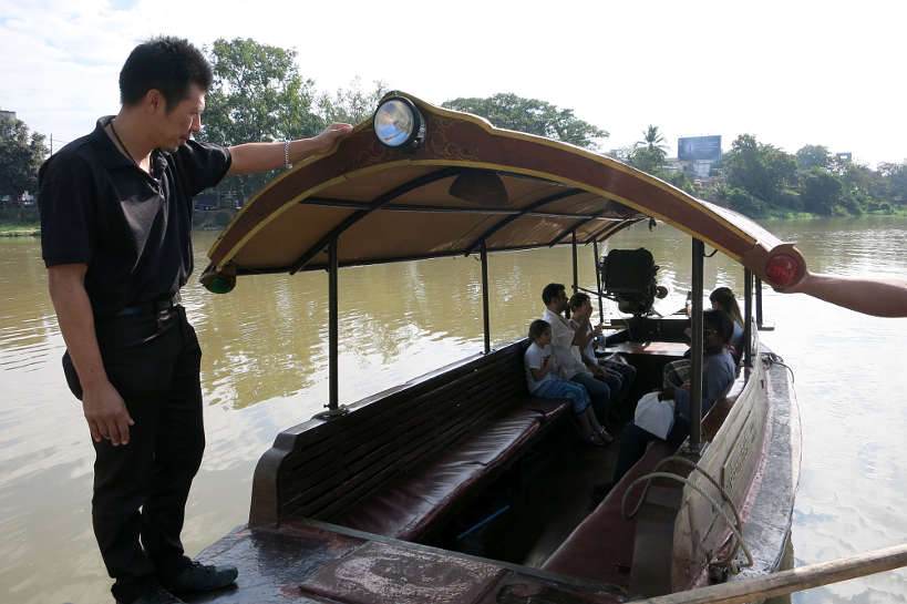Boat Ride Chiang Mai Cooking Class Authentic Food Quest