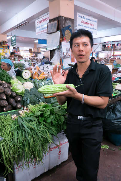 Chef A Warorot Market Chiang Mai Cooking Class Authentic Food Quest