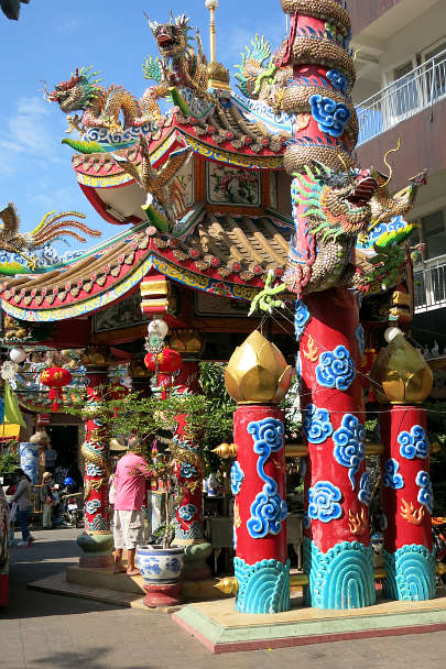 Chinese Pung Thao Kong Shrine in Chinatown Chiang Mai by Authentic Food Quest