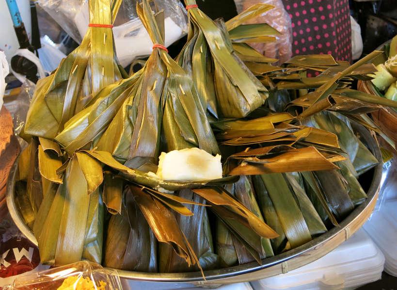Khanom Sod Sai Coconut Cake Popular Thai Desserts Authentic Food Quest