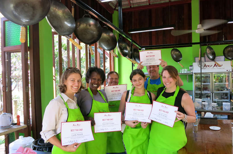 Cooking Croup Chiang Mai Cooking Class Authentic Food Quest