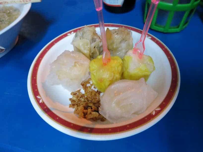 Dumplings Chinatown Bangkok Food Authentic Food Quest