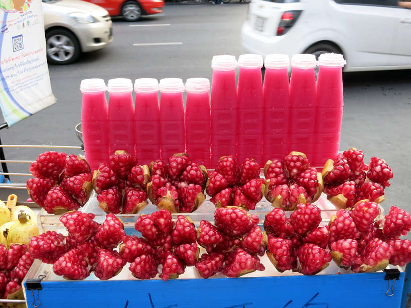 Pomegranate Juices Popular Thai Desserts Authentic Food Quest