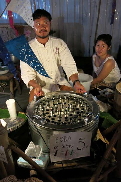 Thai Popsicles Vendor Popular Thai Desserts Authentic Food Quest