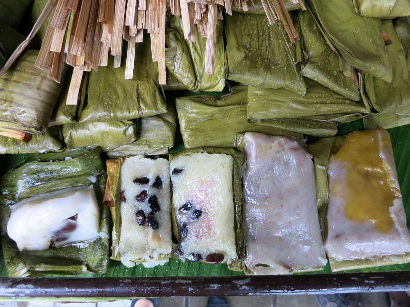 Sticky rice Cakes Popular Thai Desserts Authentic Food Quest