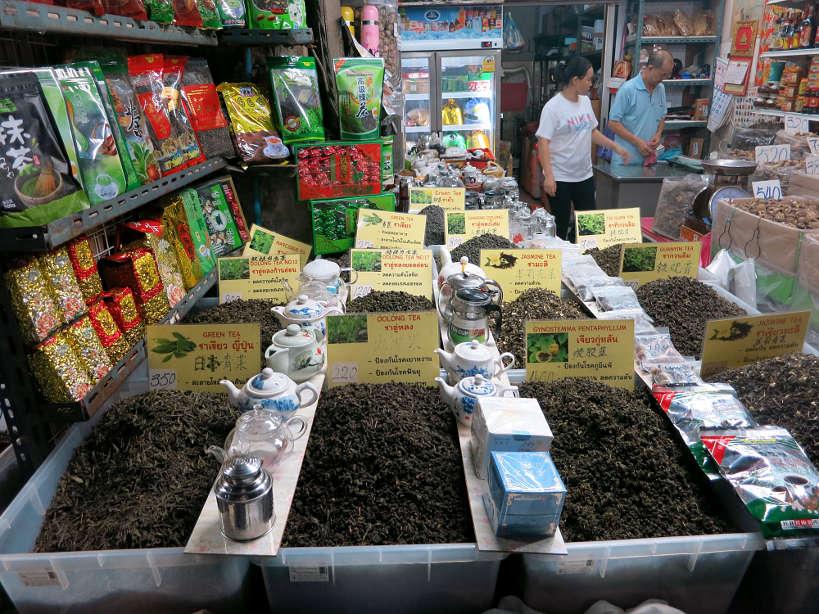 Tea Vendor Market Chinatown Bangkok Food Authentic Food Quest