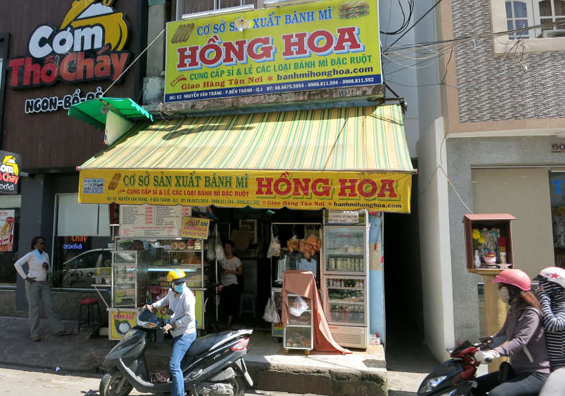 Banh Mi Hong Hoa Best Banh Mi in Saigon also Best Banh Mi in Ho Chi Minh District 1 on the quest for the best Banh Mi in Vietnam the famous Vietnamese Sandwich Authentic Food Quest