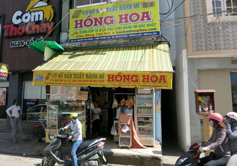 Banh Mi Hong Hoa Restaurant Vietnamese Sandwich Authentic Food Quest