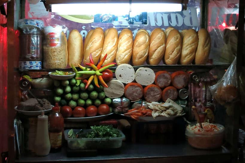 BanhMiIngredients_VietnameseSandwich_AuthenticFoodQuest