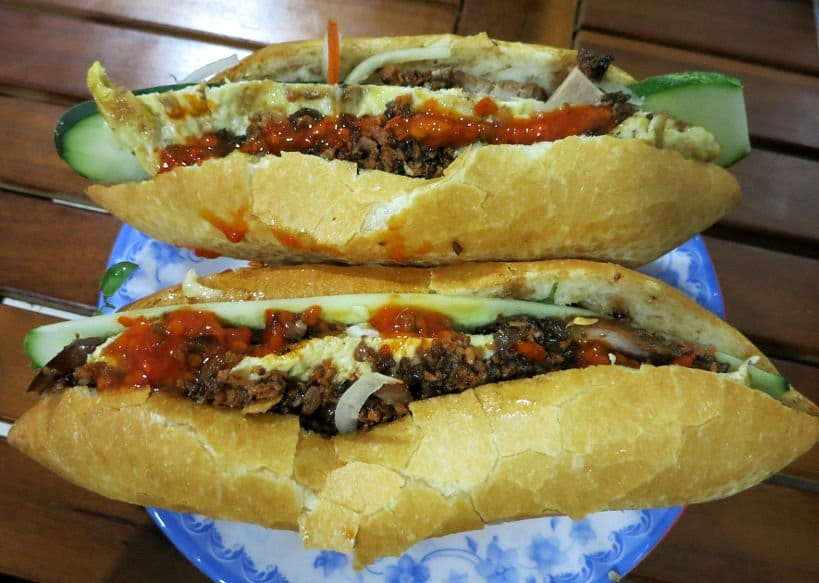 Best Banh Mi Sandwich at The Banh Mi Queen Hoi An Madam Khanh_VietnameseSandwich_AuthenticFoodQuest