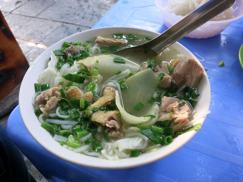 pho ga or chicken pho in hanoi by authentic Food Quest