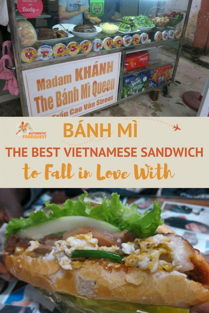 Pinterest Banh Mi Vietnamese Sandwich Authentic Food Quest