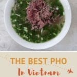 Pho in vietnam Ho Chi Minh City by authentic food quest