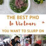 Pho in Vietnam Hanoi Authentic food quest