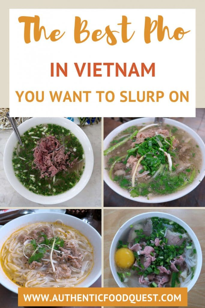 Pho in Vietnam by authentic food quest