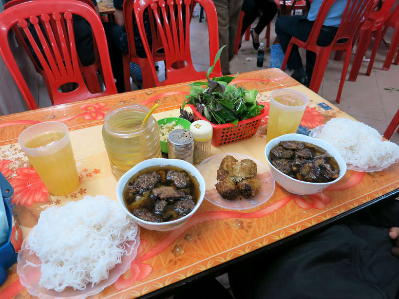 Bun Cha Meal Must Eat in Hanoi Authentic Food Quest