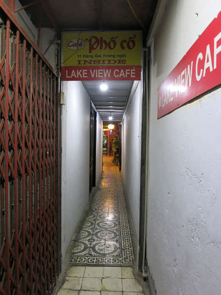 Cafe Pho Co Entrance Must Eat in Hanoi Authentic Food Quest