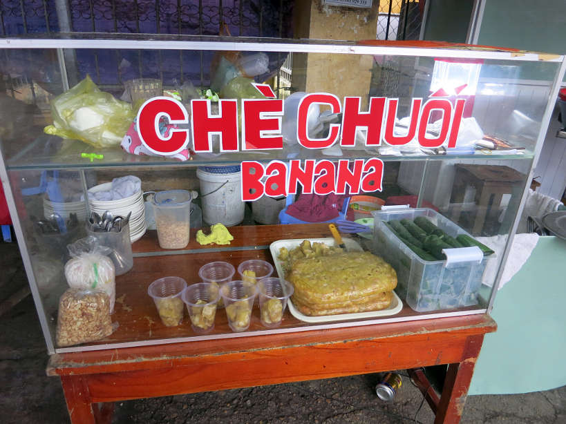 Che Chuoi Vendor in Hoi An Vietnam  by AuthenticFoodQuest