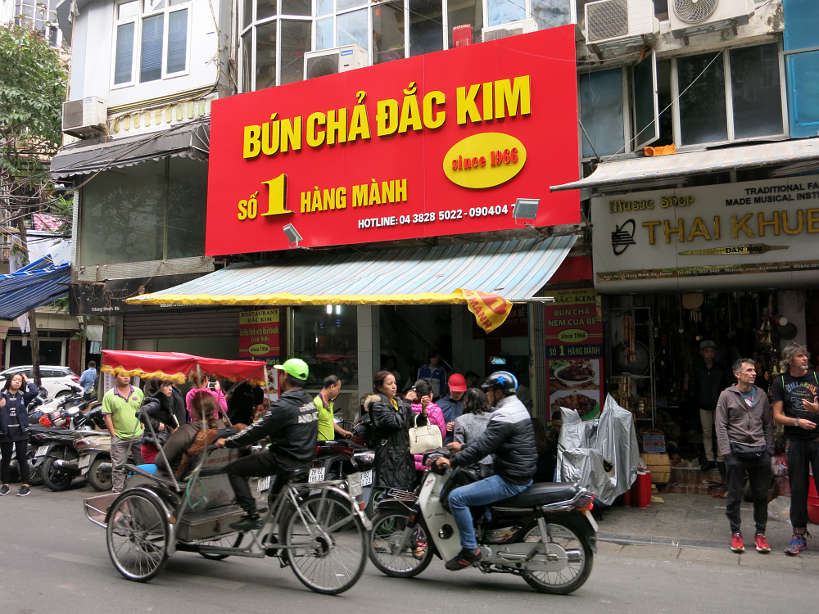 Dac Kim Must Eat in Hanoi Authentic Food Quest