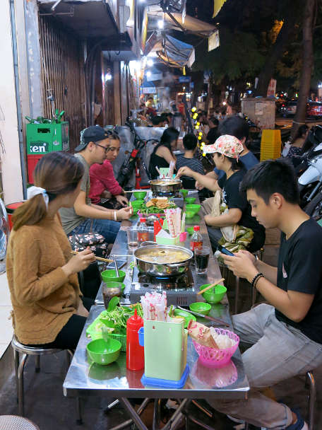People Eating Lau Must Eat in Hanoi Authentic Food Quest