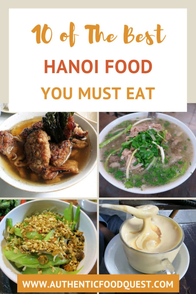 Hanoi Food Guide by AuthenticFoodQuest