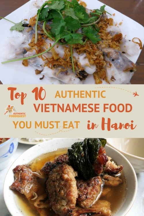 Pinterest Top Must Eat in Hanoi Authentic Food Quest
