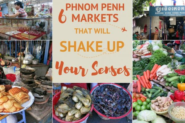 Phnom Penh Market Authentic Food Quest